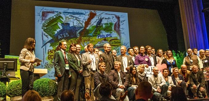 Siegerehrung InnovationCamp 2014