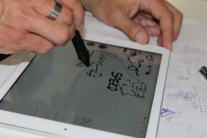 Zeichnen Detail Web