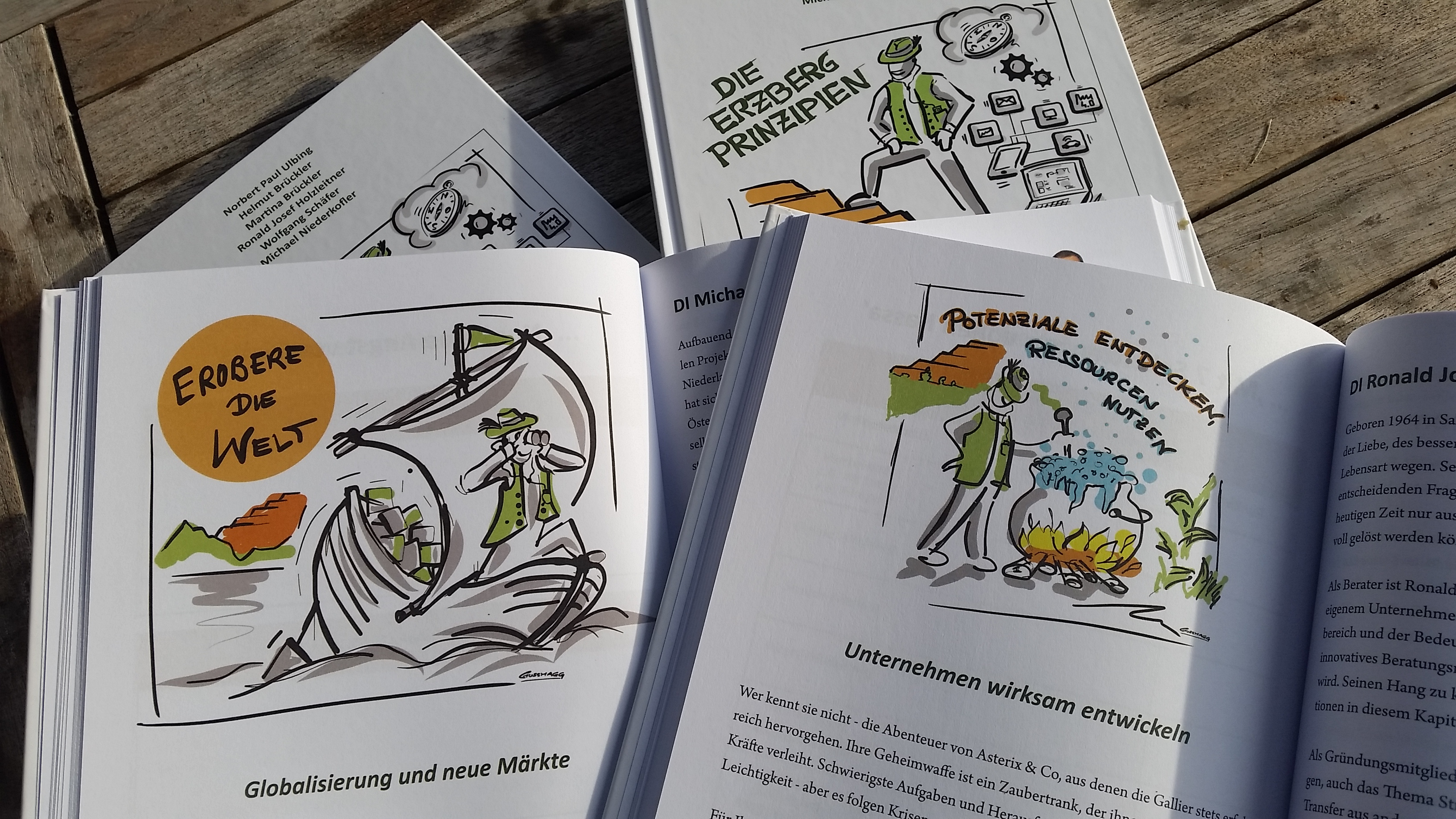 Illustrationen für ein Strategiebuch   Künstlertagebuch
